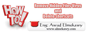 Remove Hidden Files Virus and Delete shortcuts